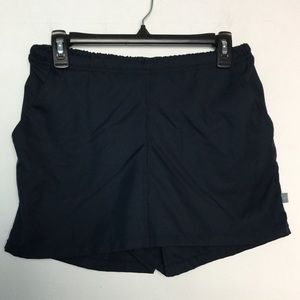 Nike M 8 - 10 Athletic Shorts Navy Blue Pockets
